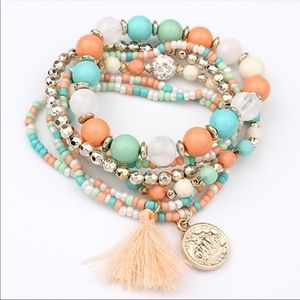 Jewelry - 6 Pcs Boho Bracelet Set